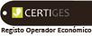 CERTIGES - Registo Operador Económico